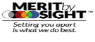 Merit by Sight website logo
