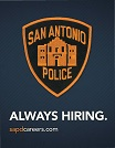 San Antonio Police Dept_SAPD Always HiringWeb